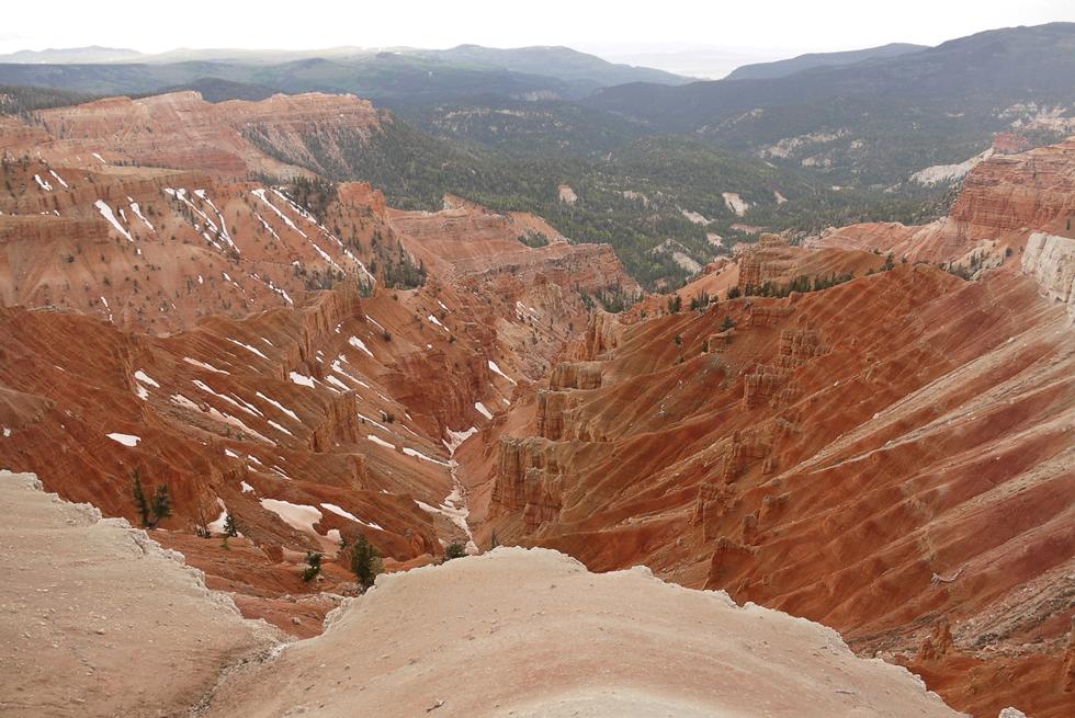 Одно из очень далёких ответвлений большого каньона.