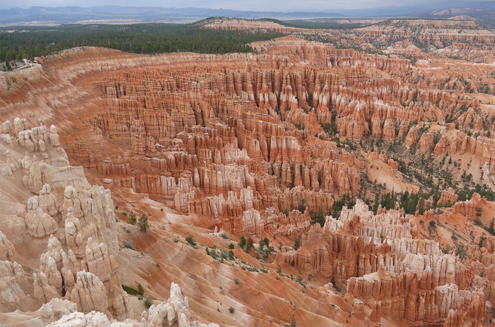 Другая далёкая ветка большого каньона. Выглядит значительно интересней, чем большой каньон, потому что размеры, хоть как-то, еще укладываются в голове.
