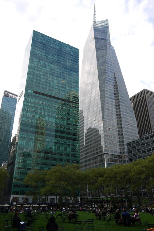 Парк на Манхеттене.