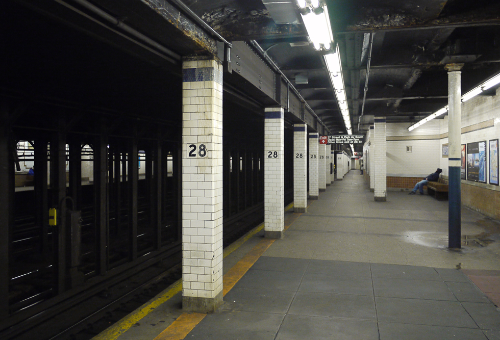 Станция метро 28 st.