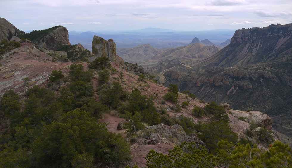 Big Bend National Park, The Lost Mine trail