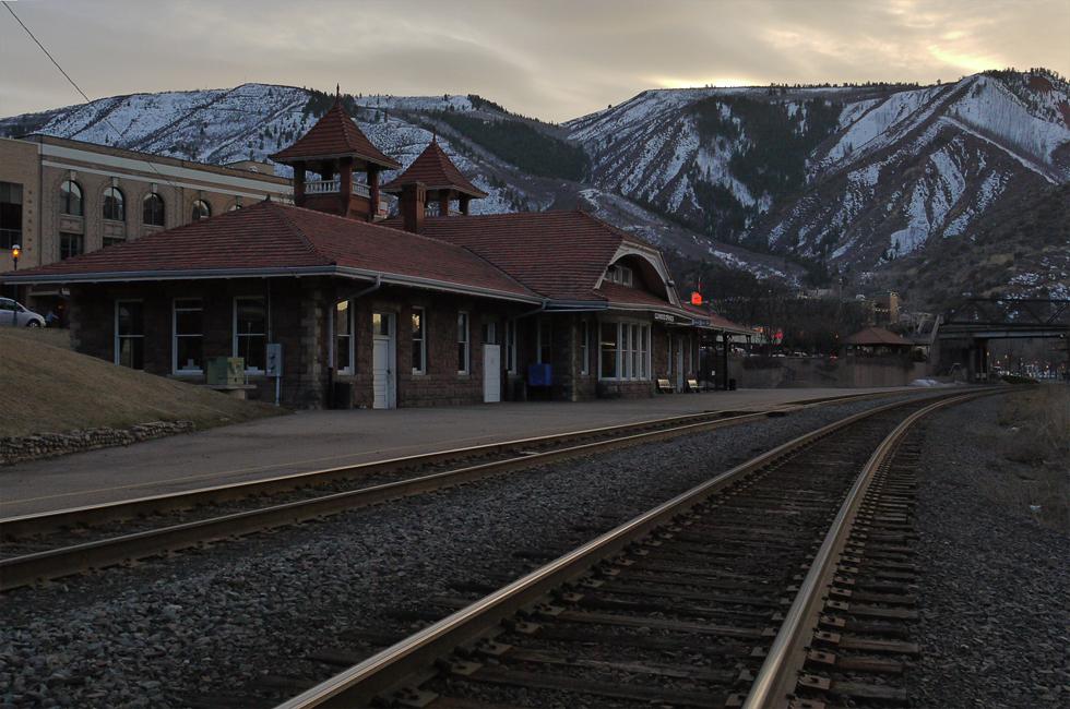 Гленвуд Спрингз, Колорадо. (Glenwood Springs, CO)