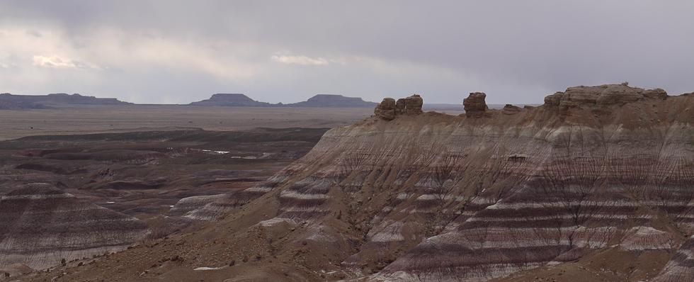 Полосатые скалы