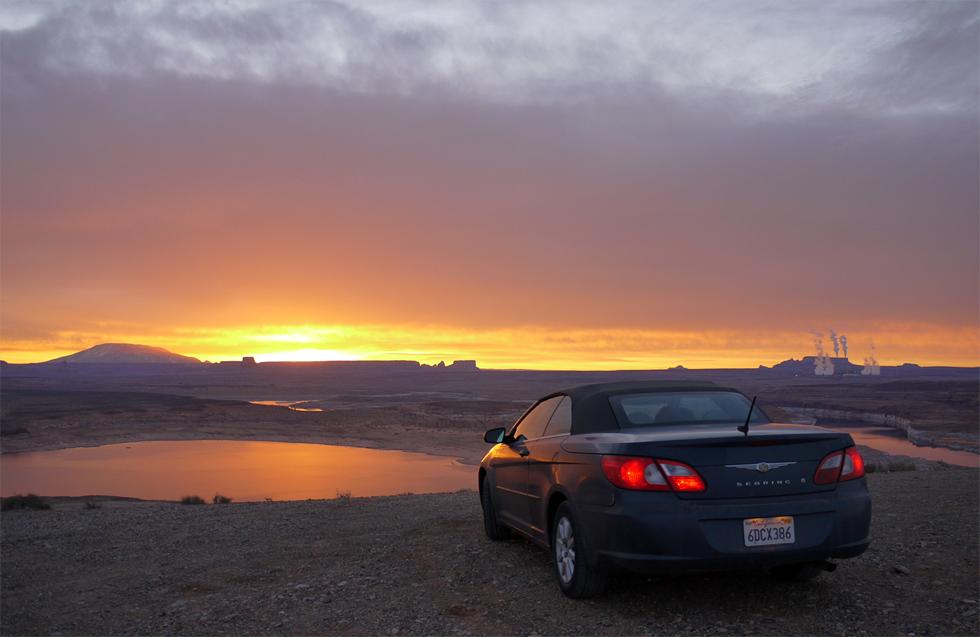 Lake Powell на рассвете