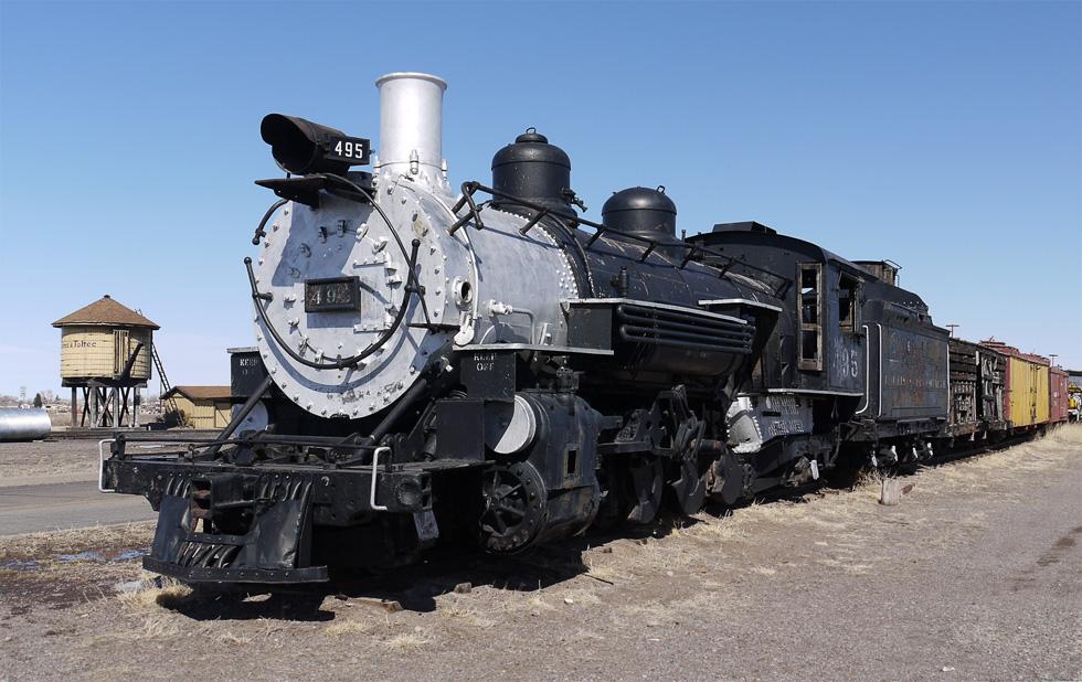 Поезд в Колорадо