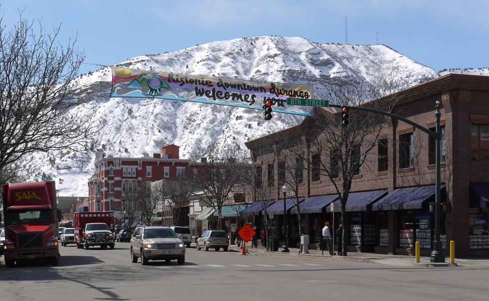 Исторический центр Дуранго, Колорадо