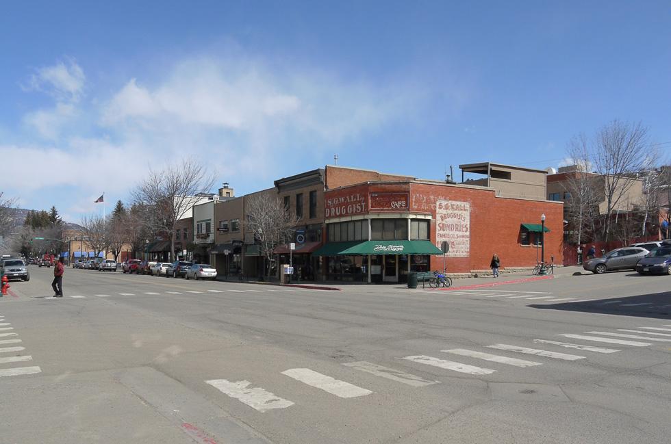 Перекрёсток в Дуранго, Колорадо