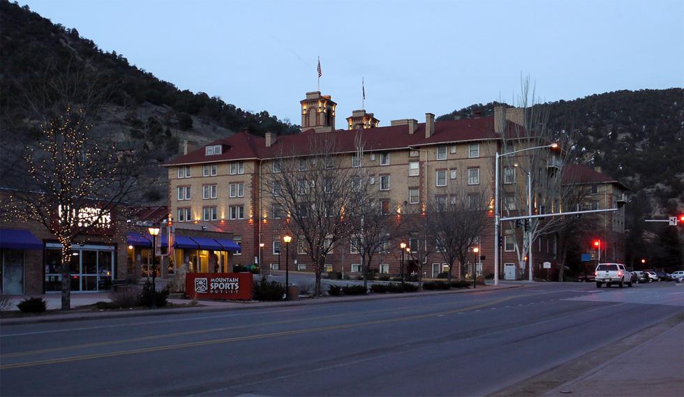 Гостиница Колорадо в Гленвуд Спрингс, Колорадо