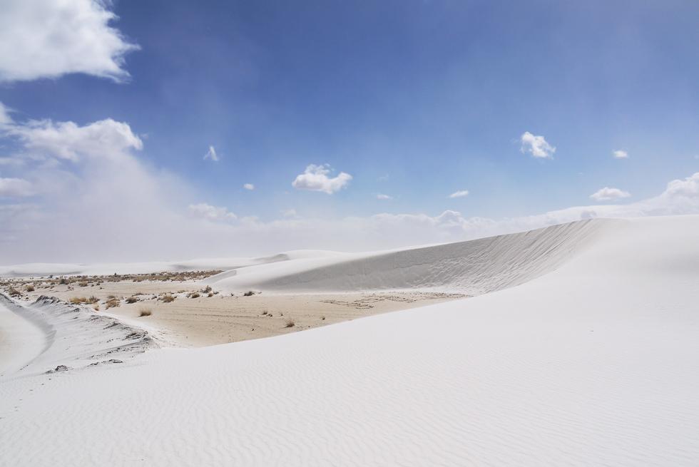 Песчаная дюна Уайт-Сэндз