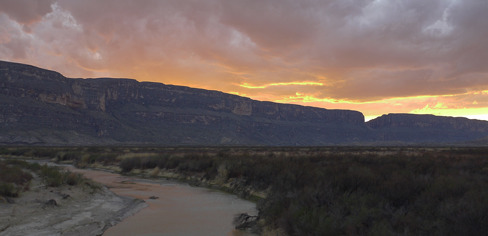 Mesa de Anguila и каньон св. Елены