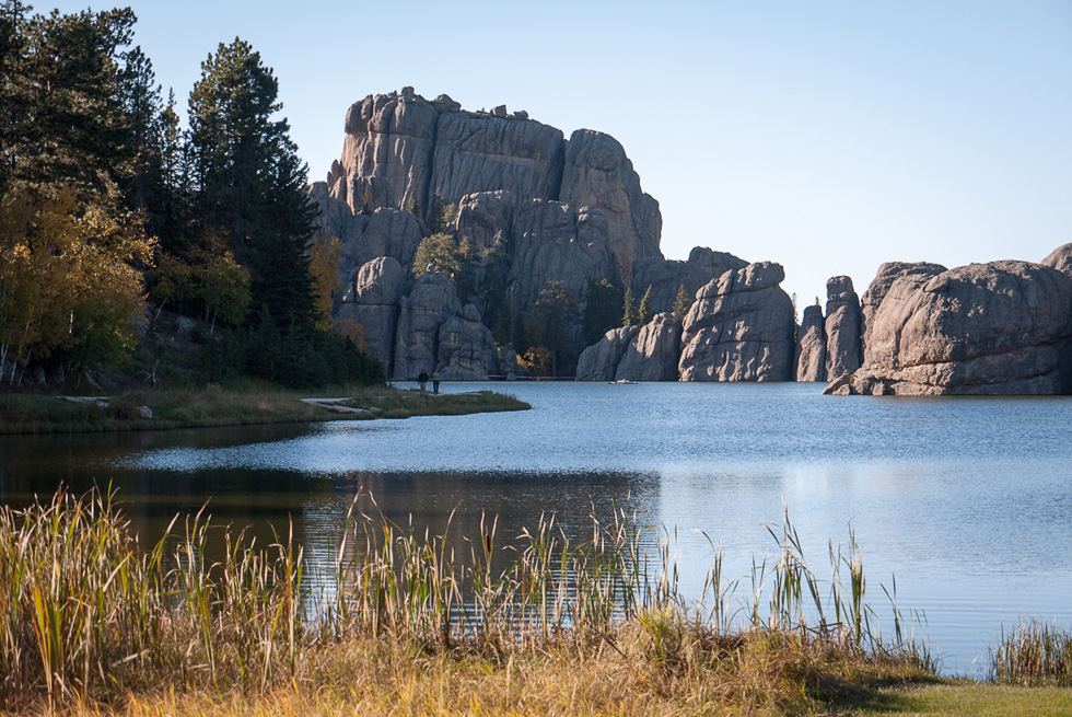 Озеро в Блэк Хилз