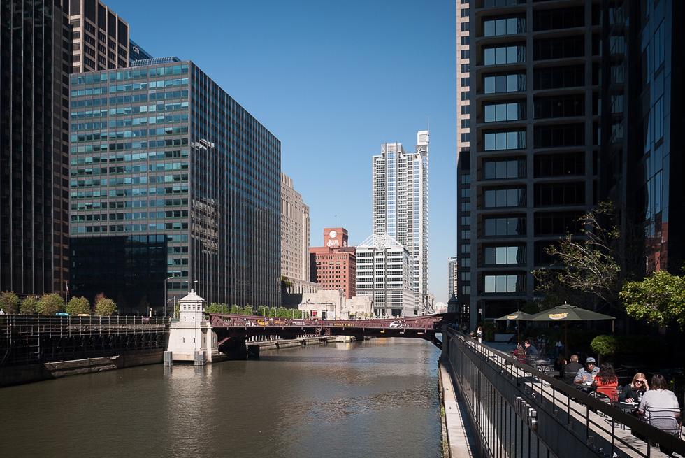 Канал в Чикаго