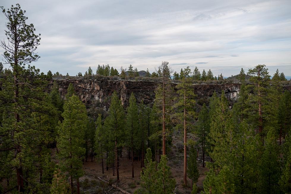 Кратер Lava beds