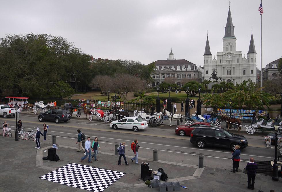 Улица Нового Орлеана