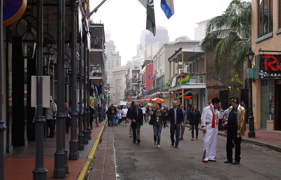 Улица Марди Гра