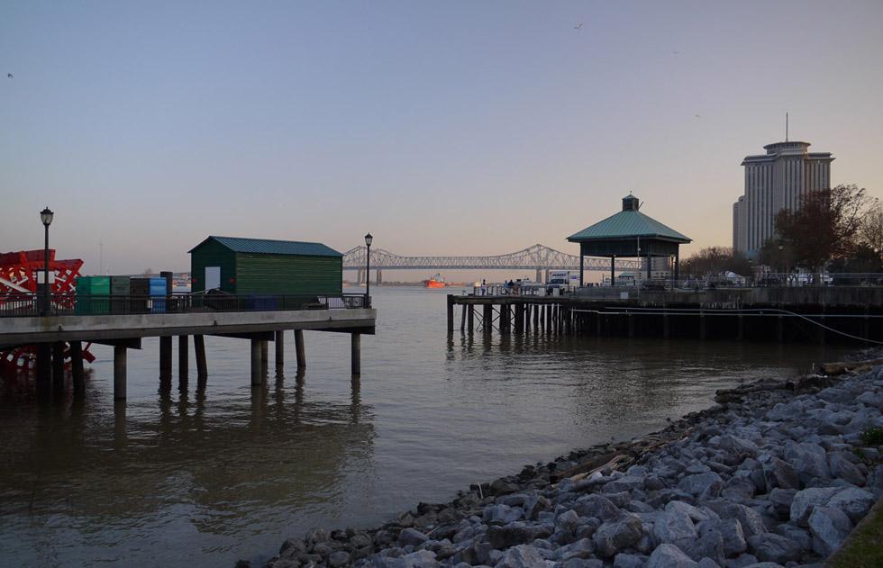 Порт нового Орлеана