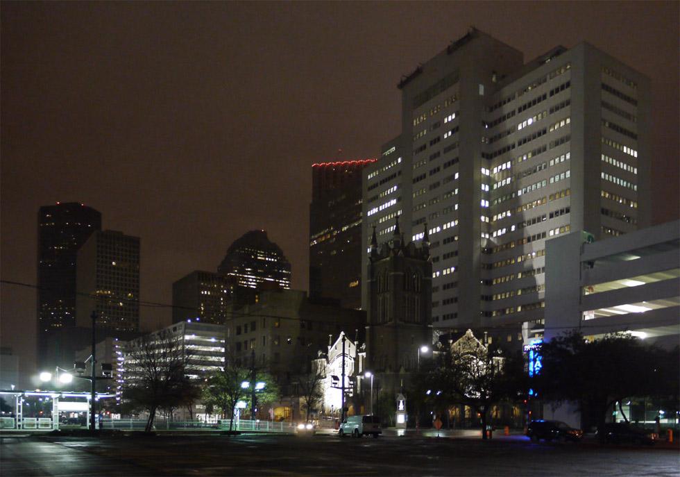 Ночь в Хьюстоне