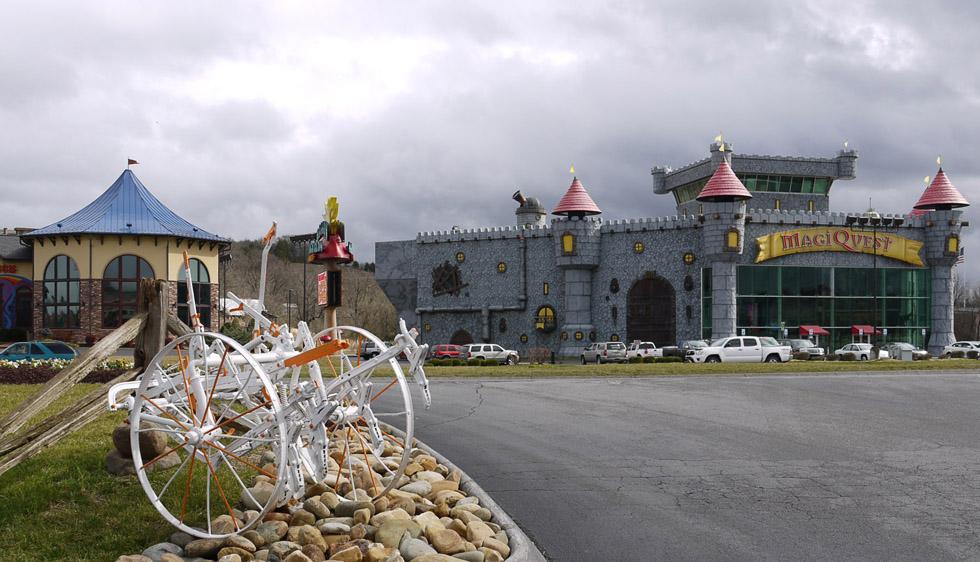 Развлекательный замок
