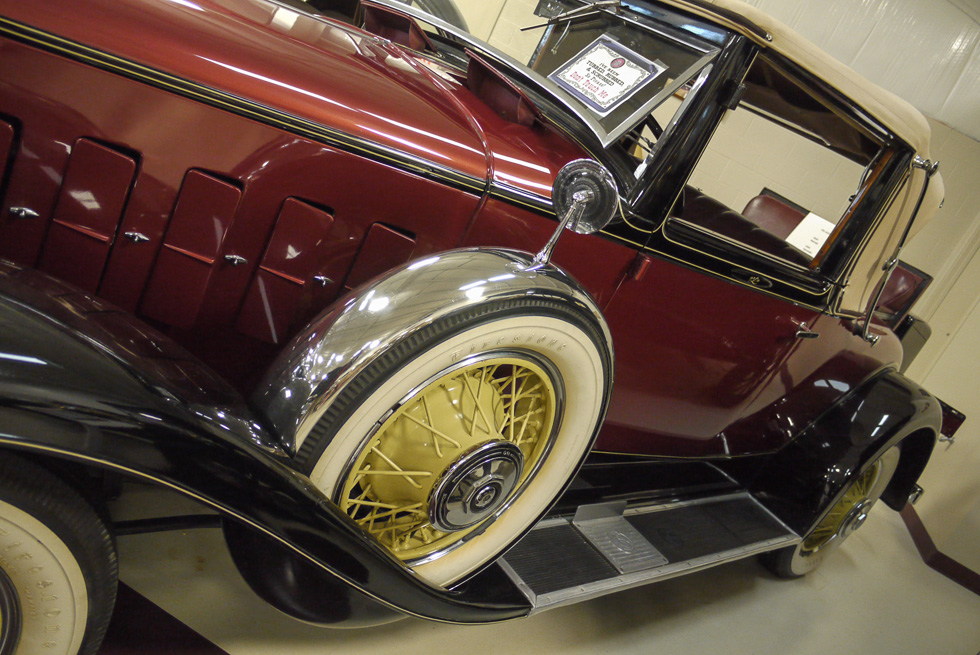 LaSalle Convertible Rumble Seat Coupe 1931 год