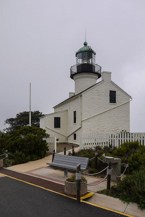 Старый маяк Сан-Диего