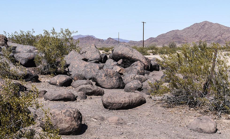 Петроглифы в пустыне Сонора
