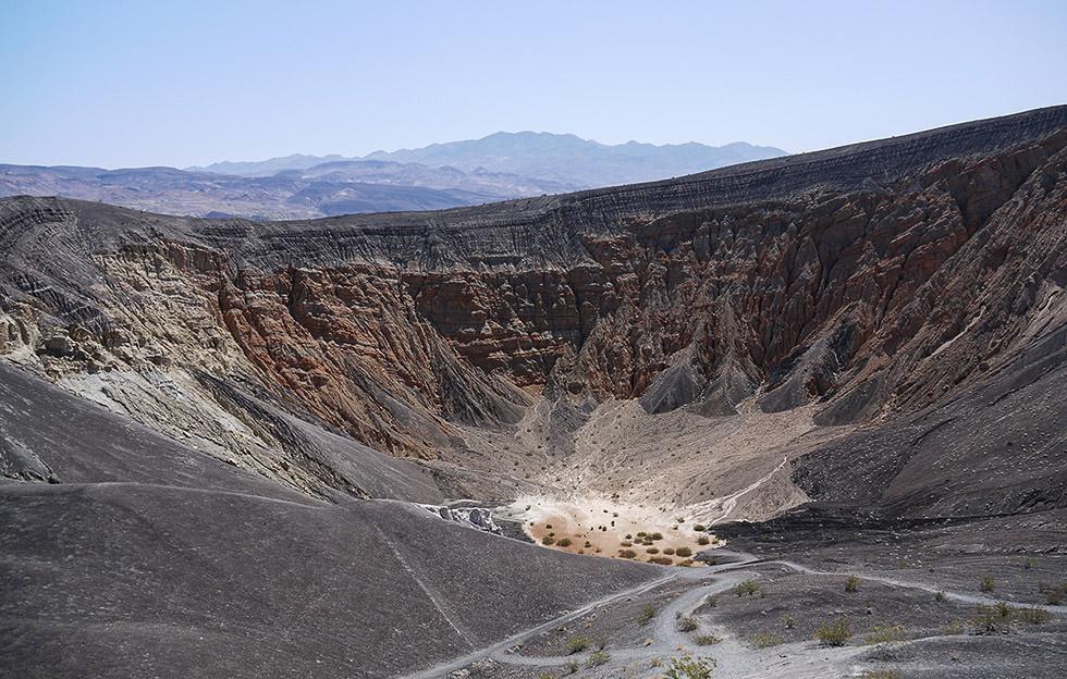 Кратер Ubehebe Crater
