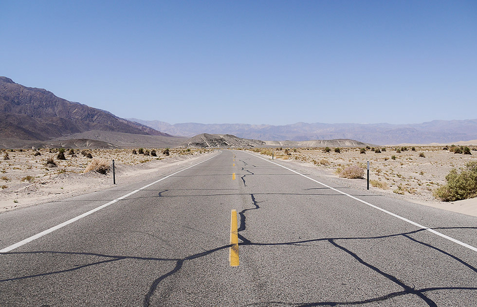 Дорога по Долине Смерти