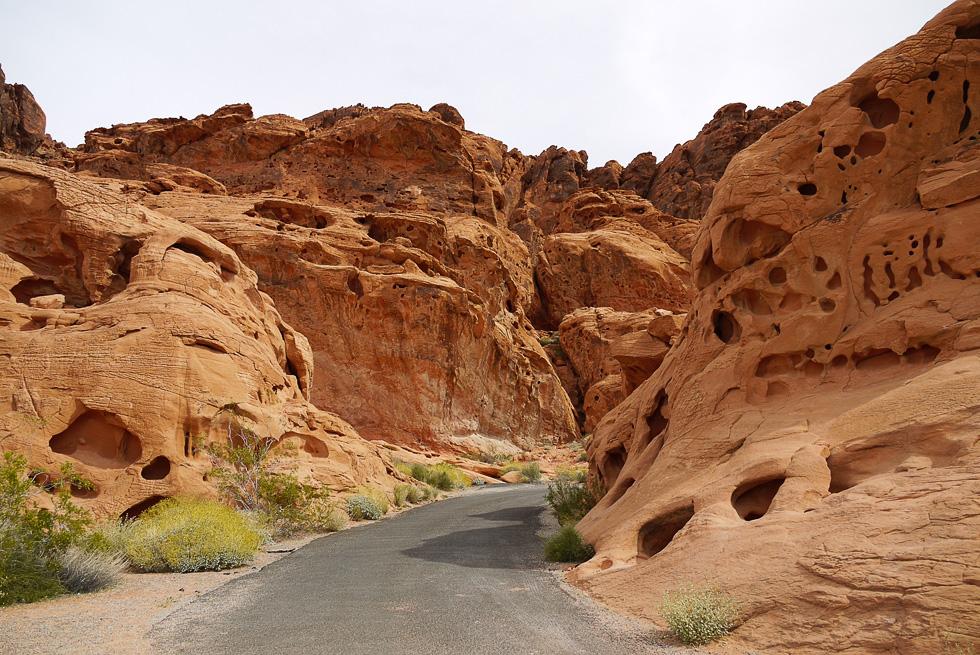 Дорога через красные формации