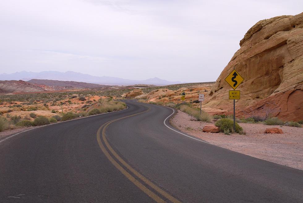 Дорога в Огненной Долине